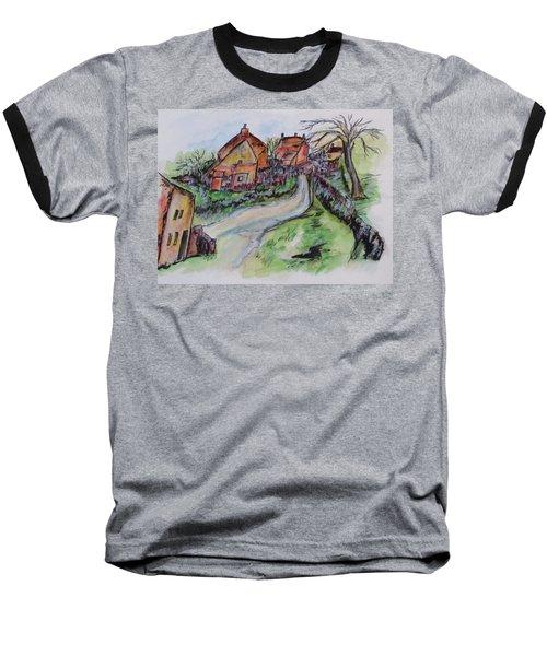 Village Back Street Baseball T-Shirt
