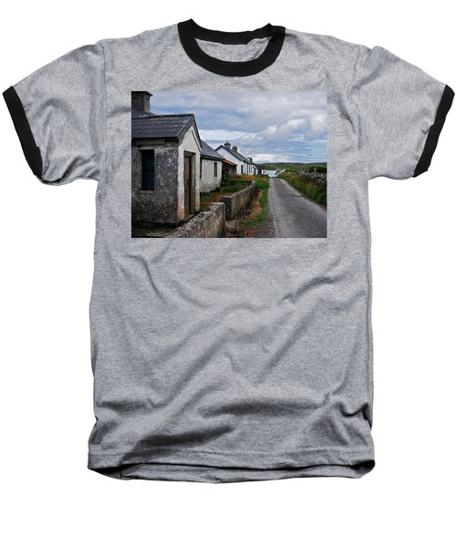 Village By The Sea Baseball T-Shirt