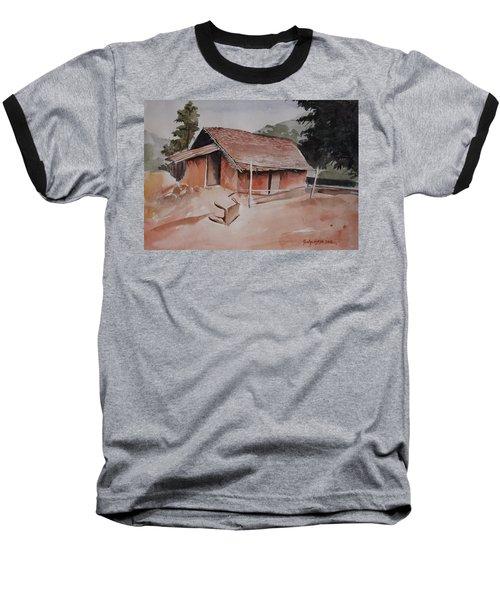 Village Hut Baseball T-Shirt