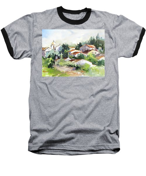 Village Life 5 Baseball T-Shirt