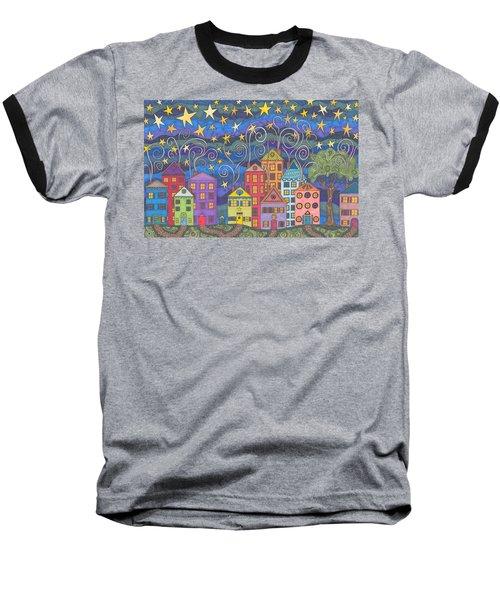 Village Lights Baseball T-Shirt