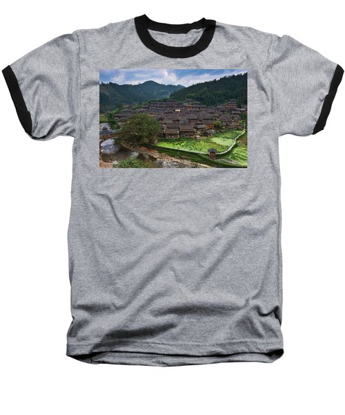 Village Of Joy Baseball T-Shirt