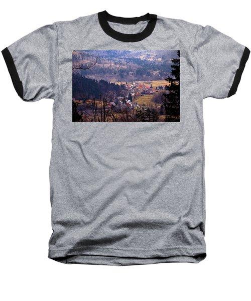 Village Of Lokve In Gorski Kotar  Baseball T-Shirt