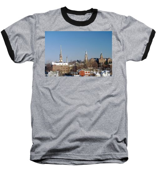 Village Of Spires Baseball T-Shirt