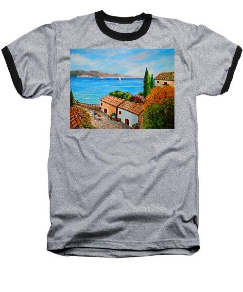 Village Perigiali / Greece Baseball T-Shirt