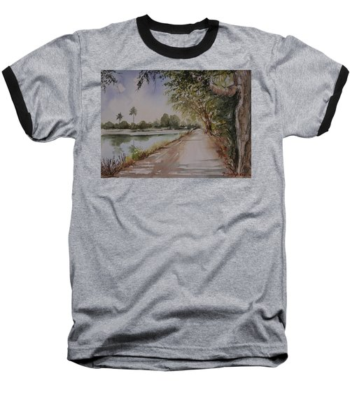 Village Road Baseball T-Shirt