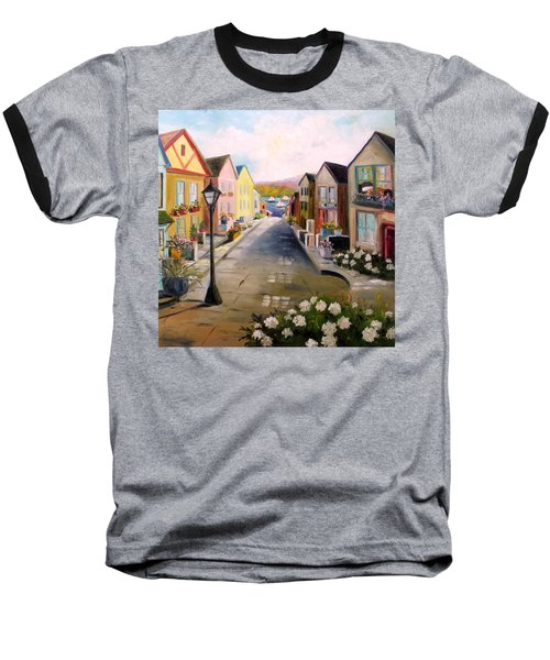 Village Street Baseball T-Shirt