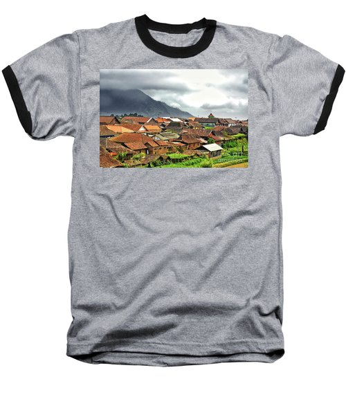 Baseball T-Shirt featuring the photograph Village View by Charuhas Images