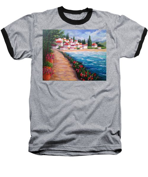 Villas By The Sea Baseball T-Shirt