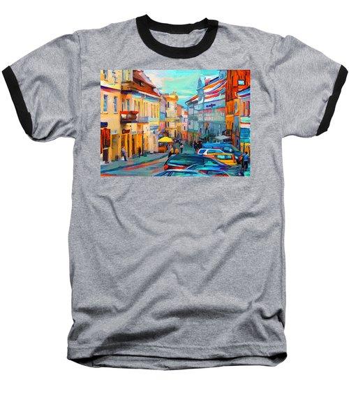 Vilnius At Paint Baseball T-Shirt