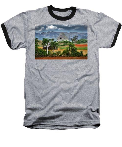 Vinales. Pinar Del Rio. Cuba Baseball T-Shirt