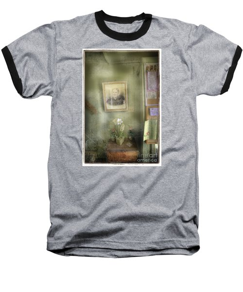 Baseball T-Shirt featuring the photograph Vinalhaven Mother by Craig J Satterlee