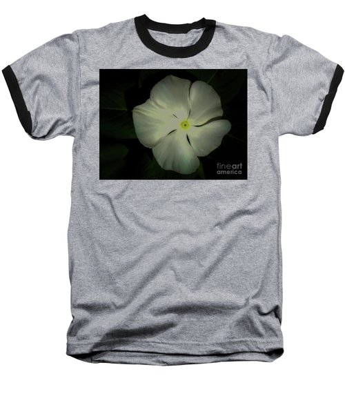 Vinca Bloom Night Glow Baseball T-Shirt