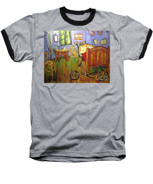 Vincent Van Go's Bedroom Baseball T-Shirt