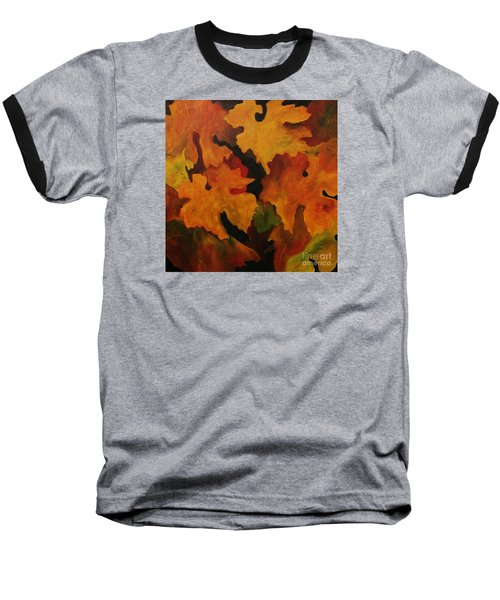 Vine Leaves Baseball T-Shirt