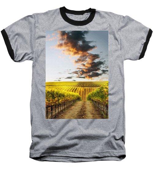 Vineard Aglow Baseball T-Shirt