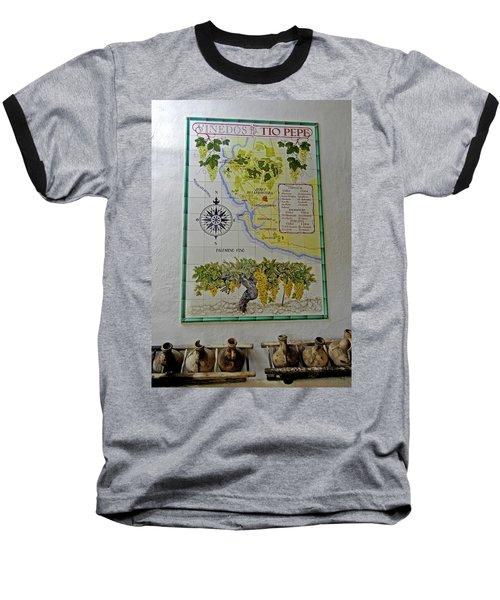 Vinedos Tio Pepe - Jerez De La Frontera Baseball T-Shirt