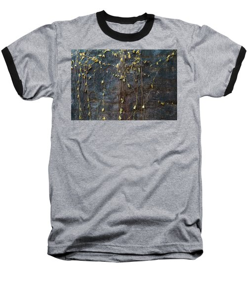 Baseball T-Shirt featuring the photograph Vines On Rock, Bhimbetka, 2016 by Hitendra SINKAR