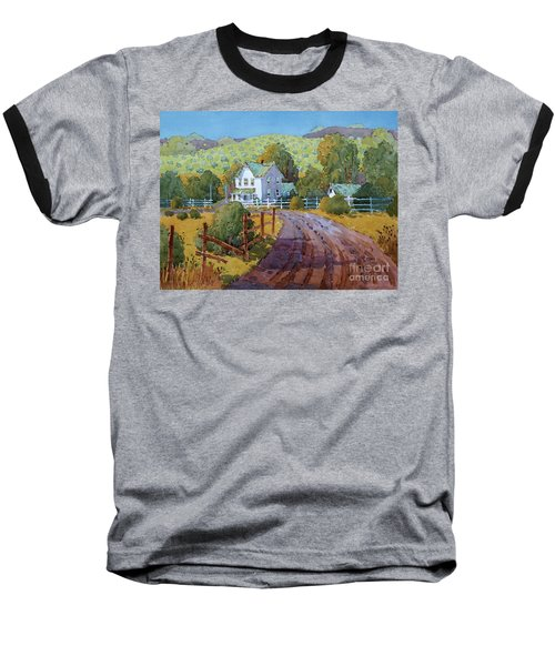 Vineyard Farm In Cambria Baseball T-Shirt