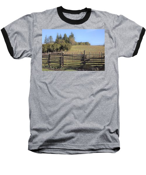 Vineyard In The Spring Baseball T-Shirt