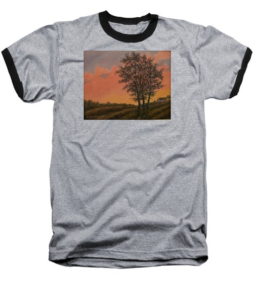 Vineyard Sundown Baseball T-Shirt