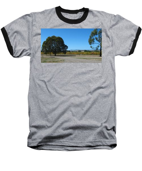 Vineyard Trees Baseball T-Shirt