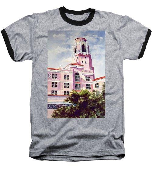 Vinoy, Renaissance Revisted Baseball T-Shirt by Roxanne Tobaison