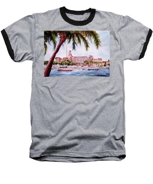 Vinoy View Baseball T-Shirt by Roxanne Tobaison