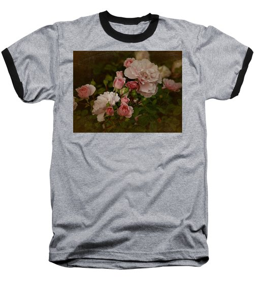 Baseball T-Shirt featuring the photograph Vintage June 2016 Roses by Richard Cummings
