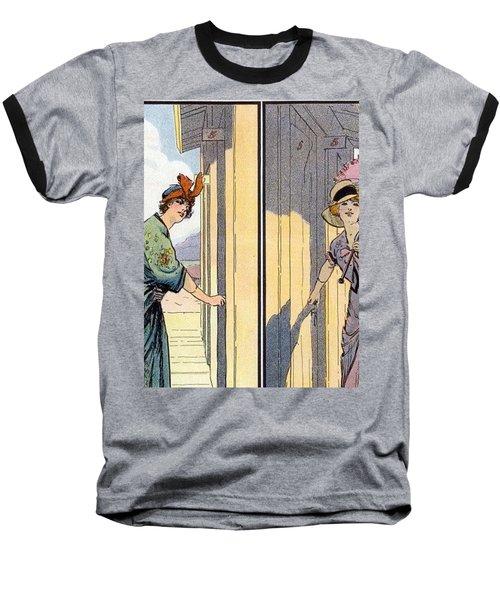 Vintage Art, Glamour Image Baseball T-Shirt