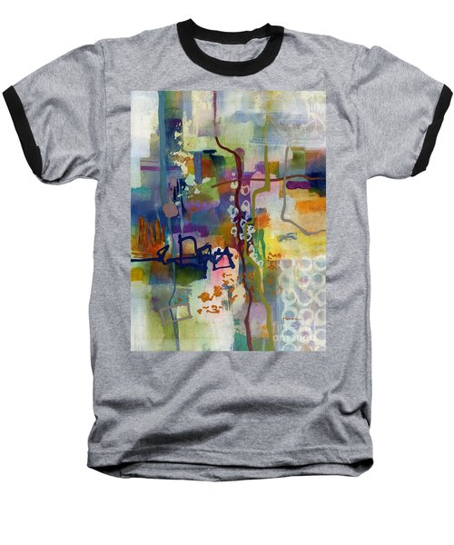 Baseball T-Shirt featuring the painting Vintage Atelier 2 by Hailey E Herrera