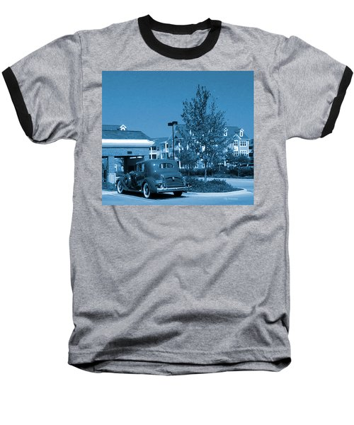 Vintage Automobile Baseball T-Shirt