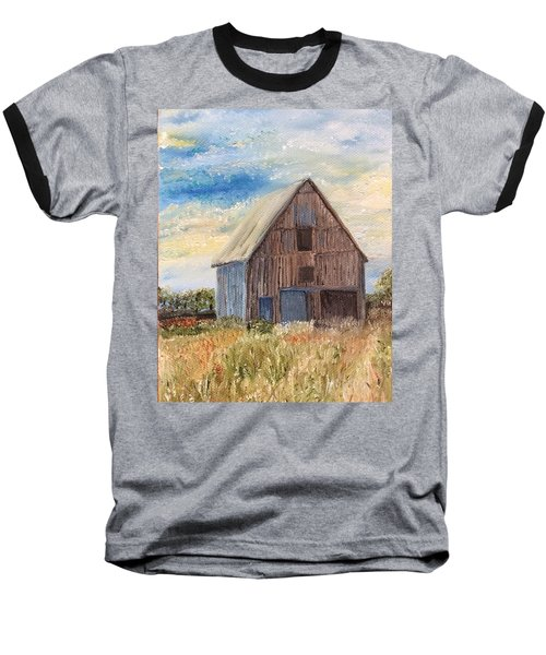 Vintage Barn Baseball T-Shirt