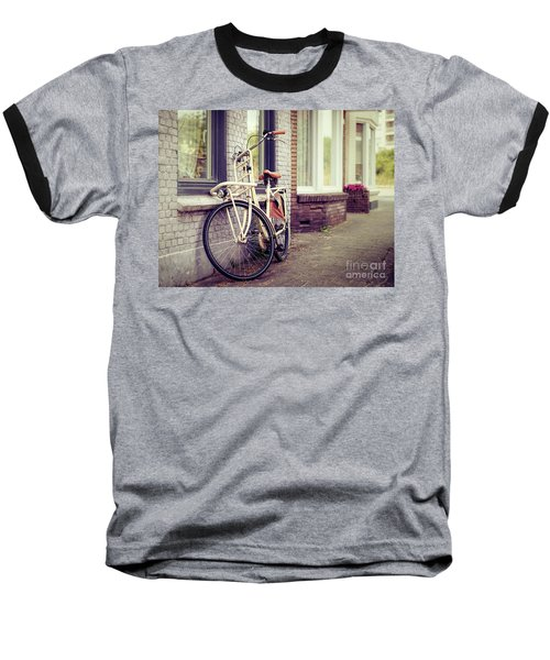 Vintage Bike Baseball T-Shirt
