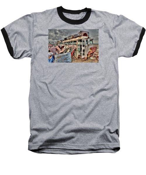 Vintage Bus Baseball T-Shirt