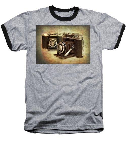 Vintage Cameras Baseball T-Shirt