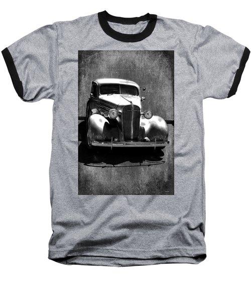 Vintage Car Art 0443 Bw Baseball T-Shirt