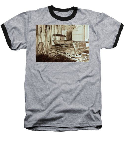Vintage Carriage Baseball T-Shirt