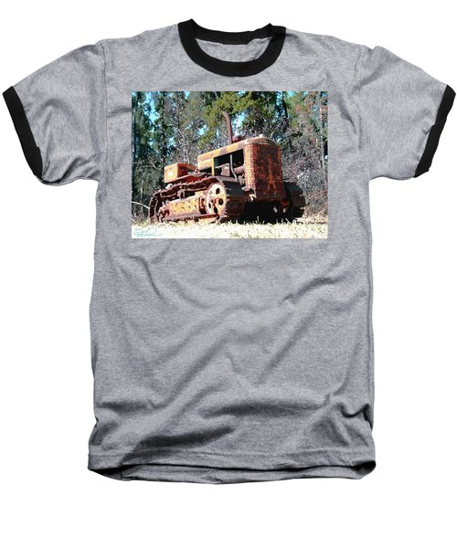 Vintage Caterpillar Baseball T-Shirt