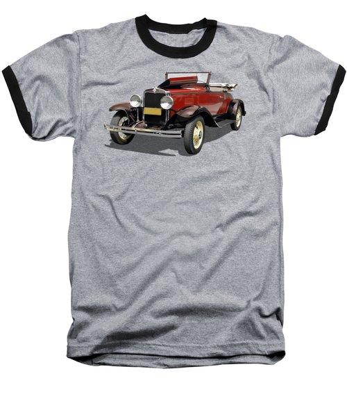 Vintage Classic Car Coupe Baseball T-Shirt