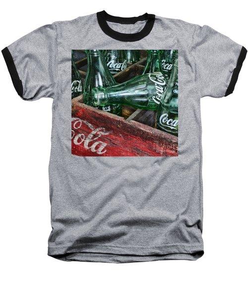 Vintage Coke Square Format Baseball T-Shirt