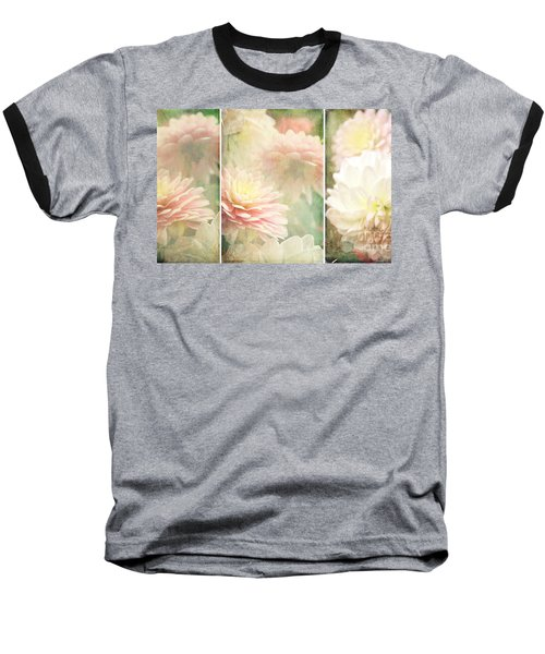 Vintage Dahlia Baseball T-Shirt