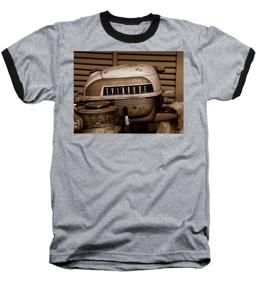 Vintage Evinrude Baseball T-Shirt