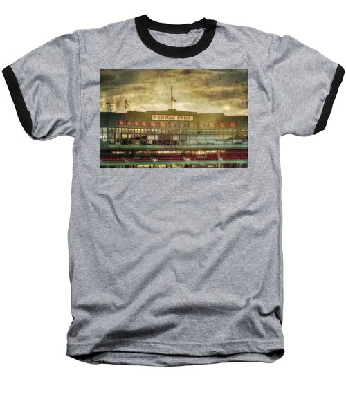 Vintage Fenway Park - Boston Baseball T-Shirt by Joann Vitali