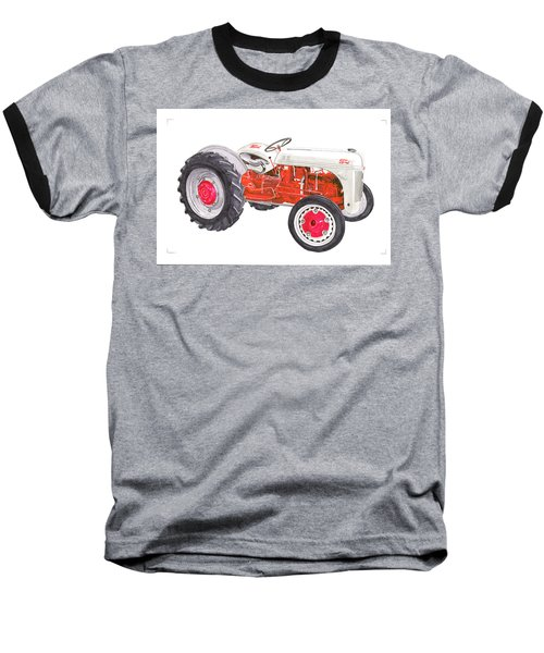 Vintage Ford Tractor 1941 Baseball T-Shirt by Jack Pumphrey