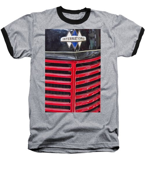 Vintage International Truck Baseball T-Shirt by Douglas Barnard