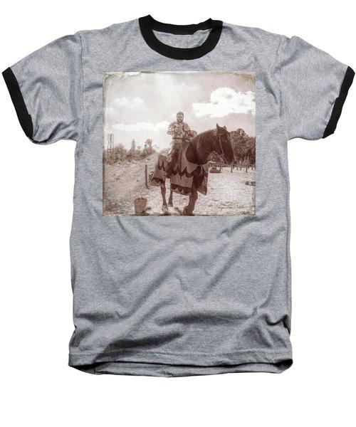 Vintage Knight Baseball T-Shirt