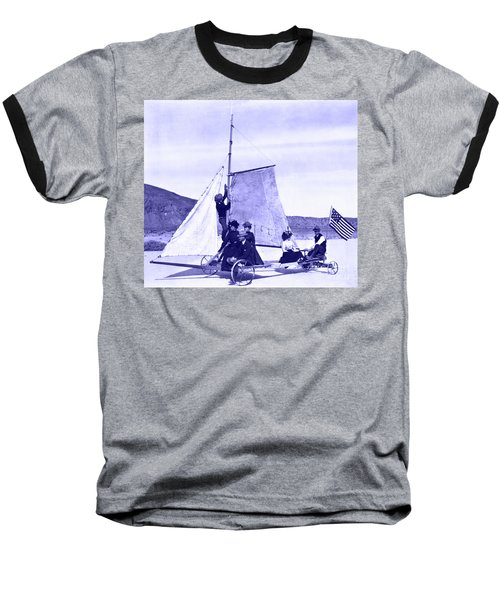 Vintage Ladies And Gentlemen Sail On The Desert Queen Baseball T-Shirt