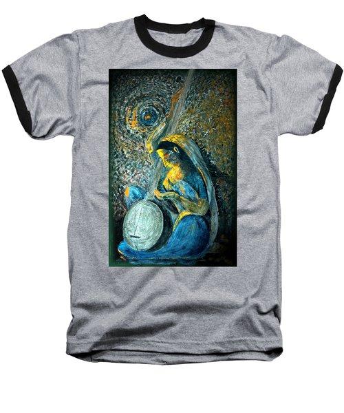Vintage - Meera - Singing For Krishna Baseball T-Shirt