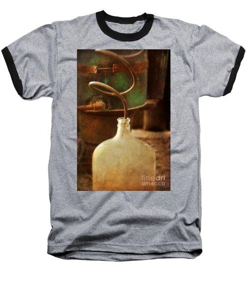Vintage Moonshine Still Baseball T-Shirt